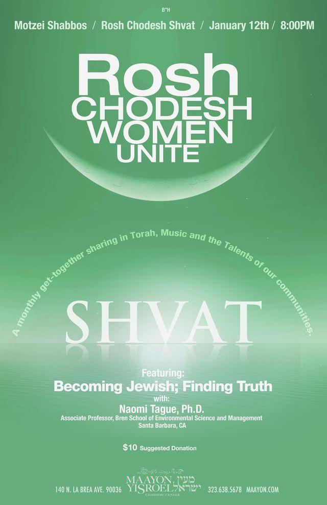 Rosh Chodesh Women Unite: Shvat